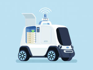 Delivery robots-THouse help - Top 10 Places Intelligent Robots Replace Humans